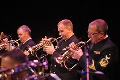 The U.S. Navy Band Commodores, some of the finest musicians in the world, perform the very best of big band jazz on August 17 at Reston Town Center