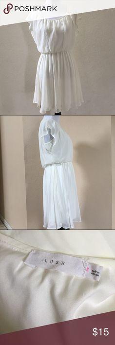 White Lush Dress Lush Brand white dress. Lush Dresses Midi