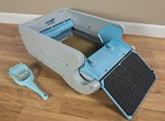 Self Cleaning Litter Box Multiple Cats