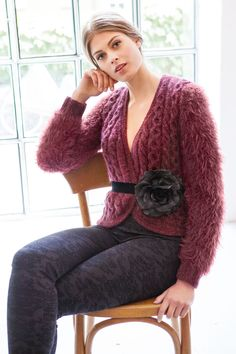 Lana Grossa JACKE Splendid/AM Superbaby Fine/Peppina - FILATI Handstrick No. 57 (Herbst/Winter 2014/15) - Modell 49 | FILATI.cc WebShop