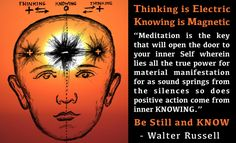 Thinking vs Knowing ~ Walter Russell | 2012 The Awakening