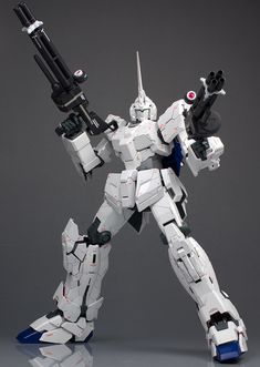 PG 1/60 RX-0 Unicorn Gundam: Work by schizophonic9 [Part One] Very Detailed Photo Review No.55 Big Size Images http://www.gunjap.net/site/?p=268378