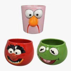 Muppet planters