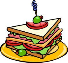 school lunch clipart set school lunch clip art food tray kids rh pinterest com
