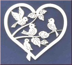 Bändershop - Bild mit vier Vögel                                                                                                                                                                                 Mehr