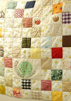 lovely baby quilt