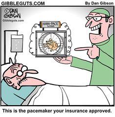 Herb gets a new pacemaker Cartoon Jokes, Funny Cartoons, Funny Memes, Patient Humor, Medical Jokes, Laughter The Best Medicine, Doctor Humor, Morning Humor, Fun Comics