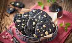 Kruche ciasteczka z czarnym kakao Bourbon, Blackberry, Fruit, Food, Bourbon Whiskey, Essen, Blackberries, Meals, Yemek