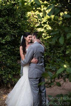 orange grove winery wedding portraits