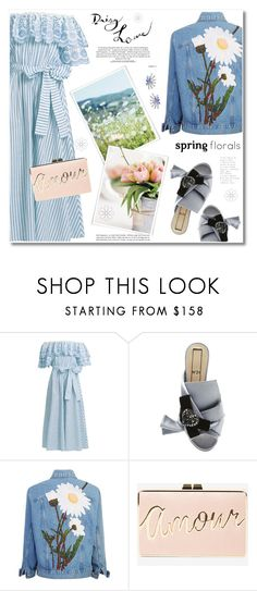 """Daisy Love"" by anne-irene ❤ liked on Polyvore featuring Gül Hürgel, N°21, BCBGMAXAZRIA and Hueb"