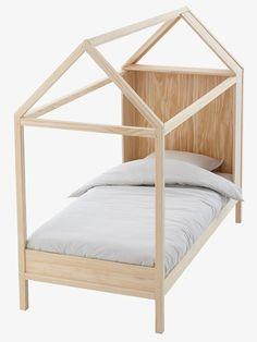Spielbett in Hausform - KIEFER - 1