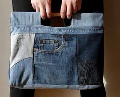 upcycled jeans bags