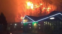Sidney James Mountain Lodge in Gatlinburg, Tennessee (Credit: Ashley Biggens via WATE ReportIt!)