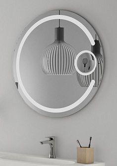 Builder Round Backlit Bathroom Mirror- BMS80C - - SHINE MIRRORS AUSTRALIA - 1