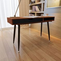 #Computer #Desk #Writing #Workstasion #Table #Laptop #Office #Furniture #Wood #Study #Brown #Home