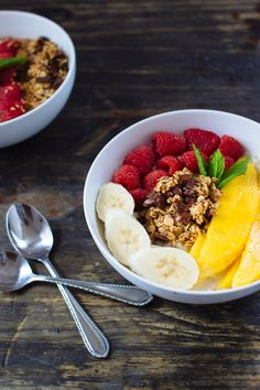 Power breakfast bowl.