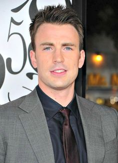 Chris Evans  (Captain America & Perfect Score)