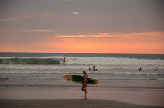 Canoa, Ecuador — by Marquestra. Canoa is hard to beat for amazing sunsets and of course surfing!