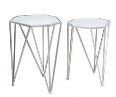 Set 2 masute Diamond Light Stool, Table, Furniture, Diamond, Home Decor, Decoration Home, Room Decor, Tables, Home Furnishings