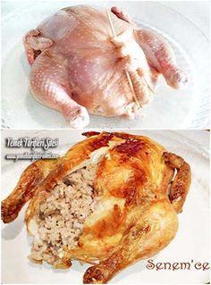 İç Pilavlı Tavuk Dolması Tarifi