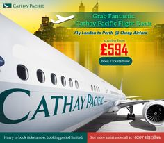 Best Airlines, Cheap Airlines, Cathay Pacific, Flight Deals, Fly London, Cheap Travel, Perth