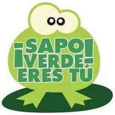 Sapo verde...