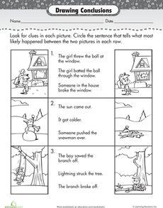 DRAWING CONCLUSIONS FREEBIE - TeachersPayTeachers.com | The ...
