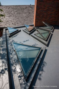 The Beccles Health Centre Project maximises the bespoke capabilities of The Rooflight Company. The specification required a unique triangular rooflight concept, where rooflights appeared frameless from the inside. Read the full case study here www.therooflightcompany.co.uk/beccles-health-centre