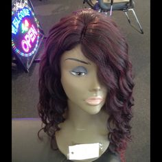 #Wig #Ombre💖💞💘💗💚💕❣💖💝💞❣💘💞💘💘💖synthetic Tess Wig Milwaukee is the Nations #1 Hair store I'm a 5 star posh click on my about all great reviews my wigs are excellent quality not china junk 25 years strong I sell quality heat resistant I have all colors I ship this wig pictured its plum with bottom red. If  u C it 😳 YES it's available I ship daily u will get this asap don't shop if u don't accept packages I move product fast n need cash to reorder. Love my shops ❌trade I have other…