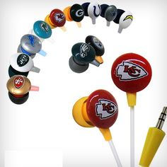 Saveology ~ $2 for the iHip NFL Ear buds!