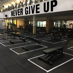 Never Give Up, Motivational Wall Decal, Fitness, Gym Decals, Exercise Stickers, Home Gym, Gym Wall Art, Wall Decals, Wall Decor, Classroom Wall Decals, Vinyl Decals, Wall Art, Gym Decor, New Wall, Textured Walls, Never Give Up, This Is Us, Motivational