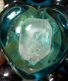 "Heartbeats of Beauty - MEDICINE: ""Fuschite Crystal Phantom in Quartz"""