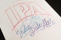 PATAGONIA IPA – Label Design on Behance