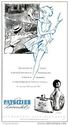 Original-Werbung/Inserat/ Anzeige 1959 - PATRIZIER LAVENDEL PARFUM  - ca. 170 x 320mm