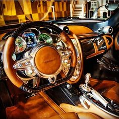 Gorgeous Interior Pagani Huayra! furistv with a hint of History!