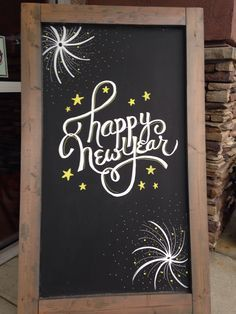new years chalk art - Yahoo Image Search Results