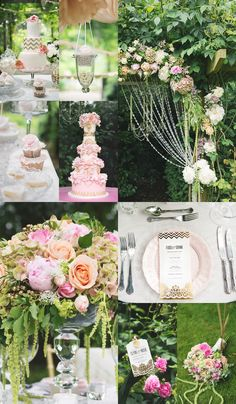 4 Dreamy and Romantic Wedding Reception Themes - MODwedding