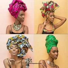 Geli. Turbans African Headdress