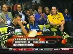 2009 PBA Bowling WSOB Trick Shots   http://twitter.com/bowlpinzLA  http://facebook.com/pinzLA