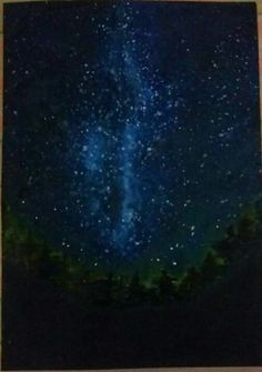 Paint the sky with stars😍 Star Sky, Paintings, Lights, Paint, Painting Art, Painting, Lighting, Portrait, Lamps