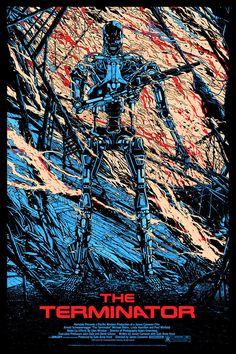 'The Terminator' by Kilian Eng for Mondo