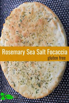 Disappearing Gluten Free Focaccia Recipe with Rosemary Gluten Free Focaccia with Rosemary from Spinach Tiger Gluten Free Focaccia Bread Recipe, Bread Recipes, Gluten Free Cooking, Gluten Free Recipes, Scd Recipes, Sin Gluten, Sugar Free Sweets, Spinach Recipes, Foods With Gluten