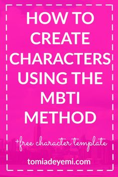 Here is a quick and easy way to make sure your story is rich with realistic and 3-dimensional characters!