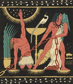 """Like """"waking from a dream"""", artist Mike Willcox turns to his canvas to understand his subconscious Ancient Greek Art, Egyptian Art, Illustrations And Posters, American Artists, Art Nouveau, Concept Art, Illustration Art, Tapestry, Canvas"""