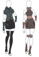 naruto outfits - Google Search