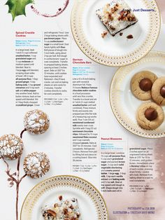 """""""25 Days of Cookies"""" from Family Circle, December 2016. Read it on the Texture app-unlimited access to 200+ top magazines."""