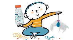 Pour apprendre à votre enfant à calmer ses colères, voici des idées de bricolages testés pour vous par l'Atelier des Parents et le magazine Popi.