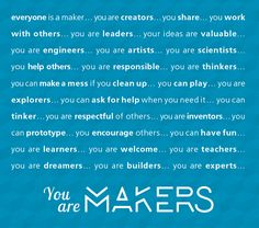 USQ Makerspace image You are Makers