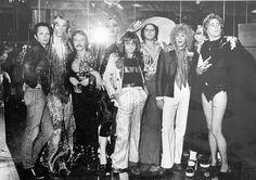Rodney Bingenheimer and the Bon Bons at Rodney's English Disco by Julian Wasser 1973