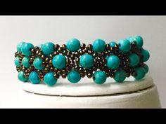 Şık Bileklik Yapımı - Bracelet Tutorial Stylish - YouTube